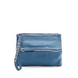 Like New Givenchy Pandora Leather Wristlet